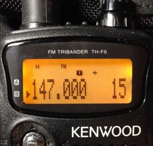 Kenwood's Transmit Tone Designation